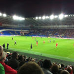 "Wales V Republic of Ireland ""No luck for the Irish as Long misfires either side of the break"" YC Luke Fox"