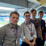 Young sports writers kick-off their careers