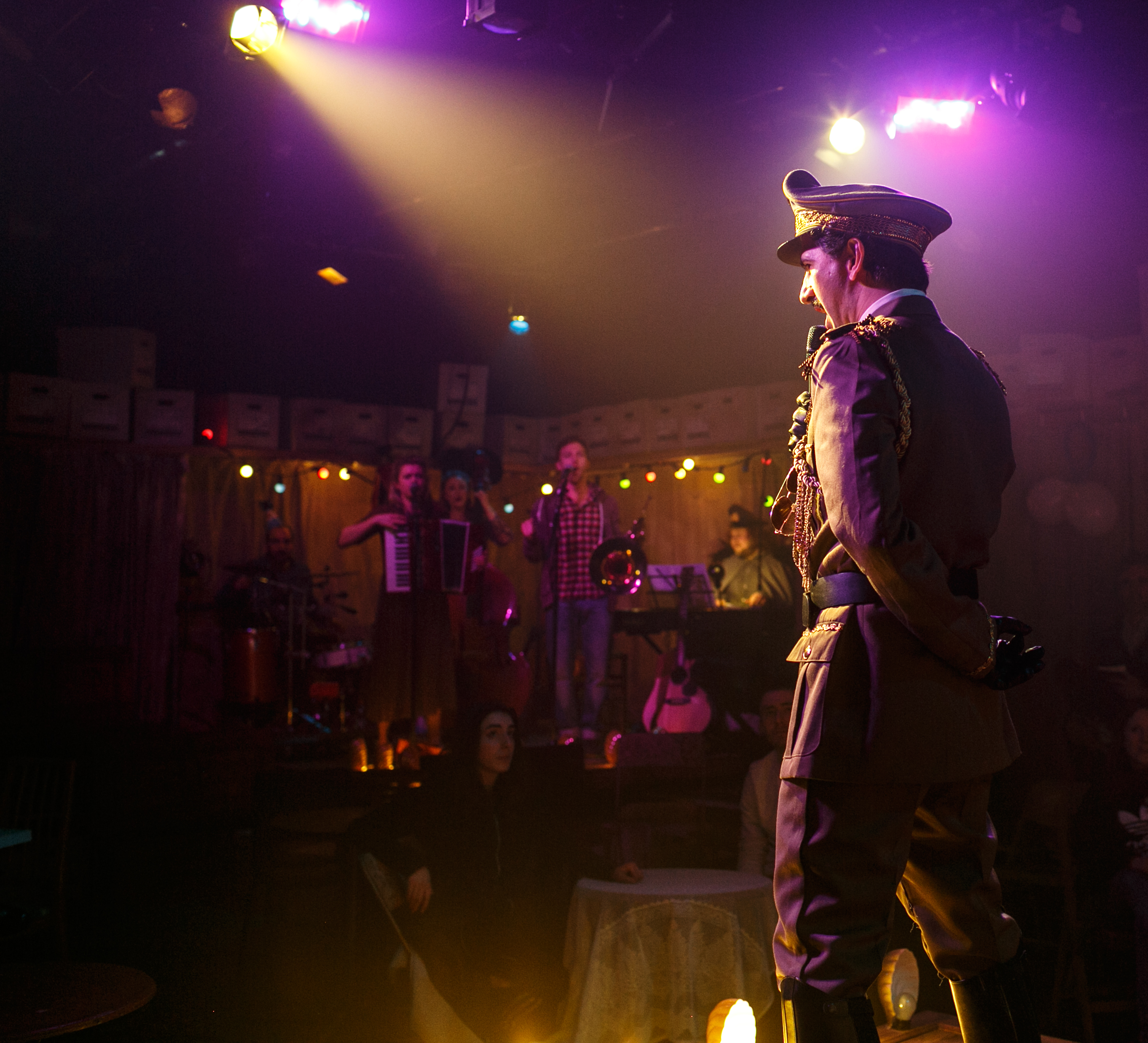 Greg Barnett as The General in These Trees are Made of Blood. Photo Credit Darren Bell