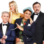 Review Dirty Rotten Scoundrels, WMC by Barbara Michaels