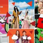 Digwyddiadau ar stondin Amgueddfa Cymru, Eisteddfod yr Urdd Fflint 2016/Activities on Amgueddfa Cymru-National Museum Wales's stall, Urdd Eisteddfod 2016