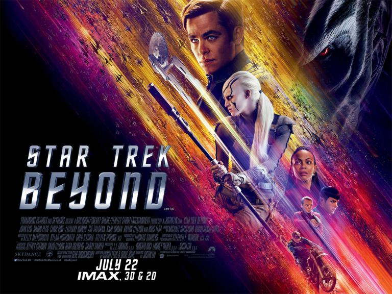 Review Star Trek Beyond by Jonathan Evans - Get The Chance