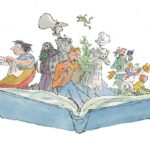 Review Quentin Blake: Inside Stories National Museum of Wales by Helen Joy