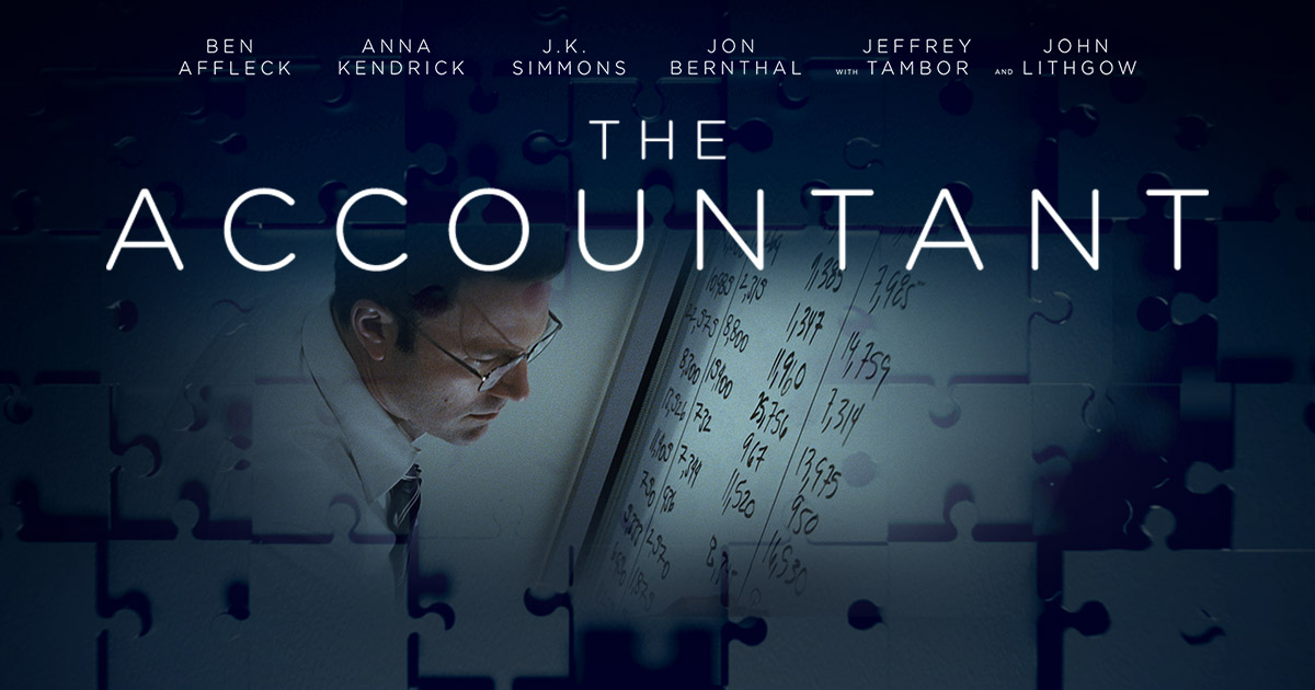 movie accounting Next year sees the release of 'the accountant' a new movie starring ben affleck  as a 'mild-mannered, socially-weird government accountant who moonlights as.