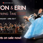 REVIEW ANTON AND ERIN SWING TIME, ST DAVID'S HALL BY JAMES BRIGGS