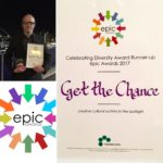 Get the Chance announced as runners up in the Celebrating Diversity Award at this years Epic Awards
