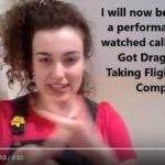BSL, Subtitled Video review, You've Got Dragons by Taking Flight Theatre Company performed at Chapter Arts Centre, Cardiff reviewed by Steph Back.