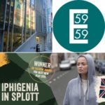 Iphigenia in Splott, a conversation in text by Leslie R Herman Jones