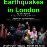 Review Earthquakes in London,  UWTSD by Hannah Ladd