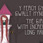 Adolygiad O 'Y Ferch gyda'r Gwallt Hynod Hir' Gan Lleucu Sion
