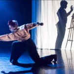 A Response to Écrit, Choreographed by Nikita Goile, NDCWales Roots Tour by Sean Bates